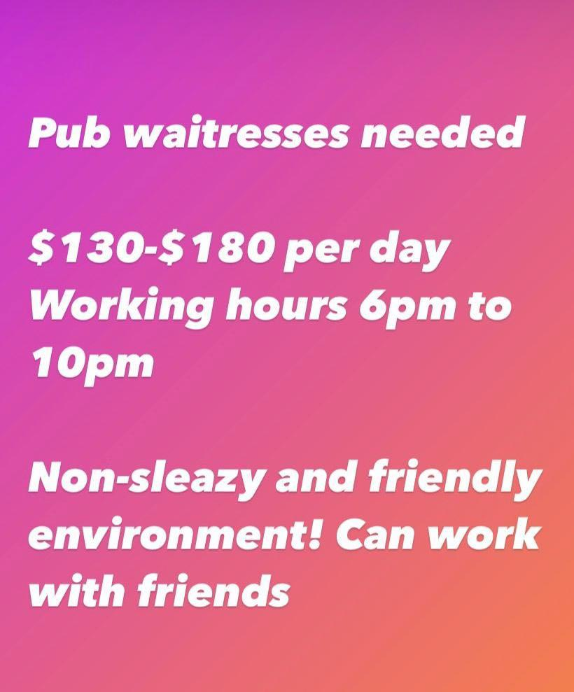 Bistro Waitress