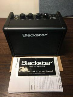 (9.9成新)Blackstar 黑星 FLY 3 迷你吉他音箱 內建Delay效果器 *原價2900