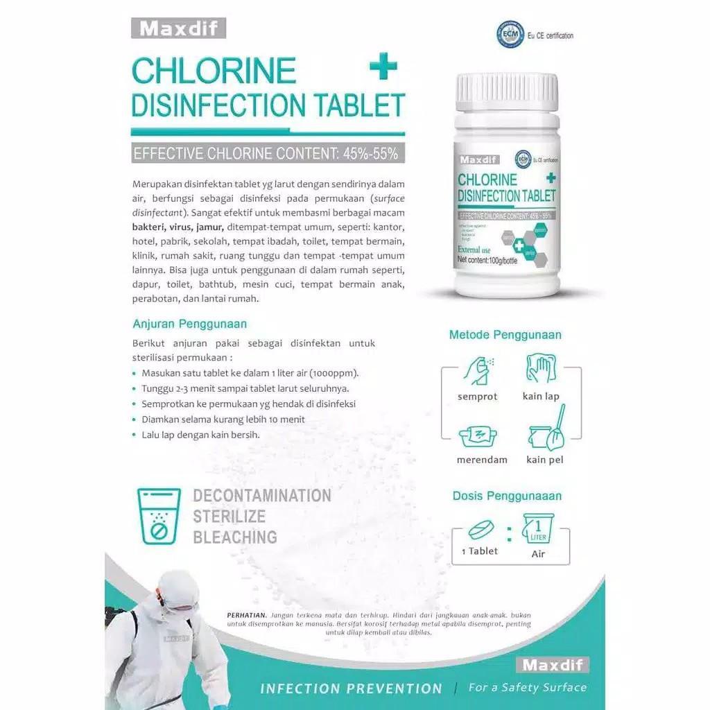 Disinfektan tablet harga satuan izin BNPB