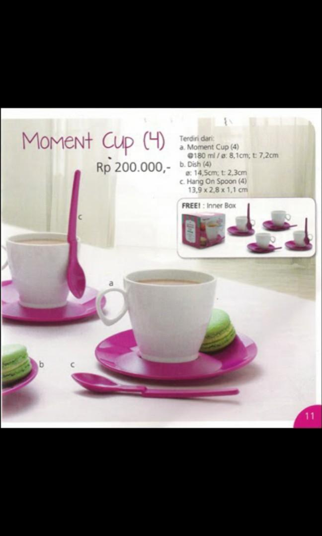 Diskon 40% Moment Cup - Cup Tupperware