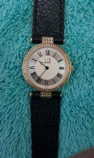 Dunhill 18k gold watch