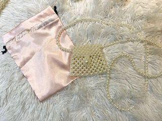 Gorgeous pearl crossbody/purses