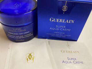 全新Guerlain Super Aqua Crème Day Cream 特效水合保濕修護霜