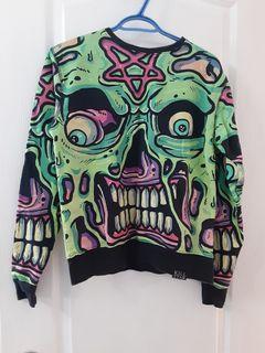 Mens small sweatshirt killstar