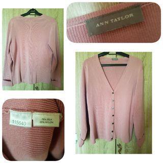 Nice pink cardigan
