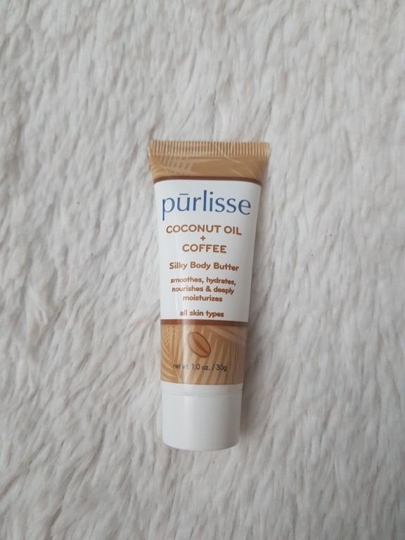 Purlisse Coconut Oil and Coffee Silky Body Butter