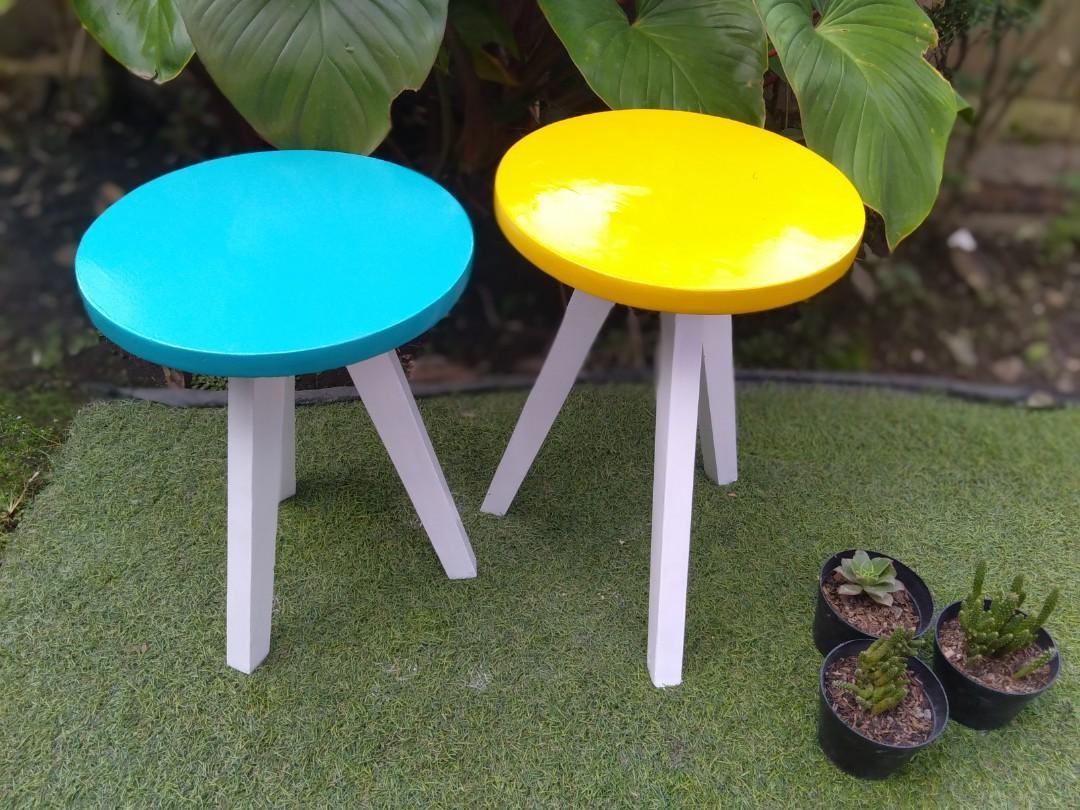 Saleee meja bulat warna bisa reques