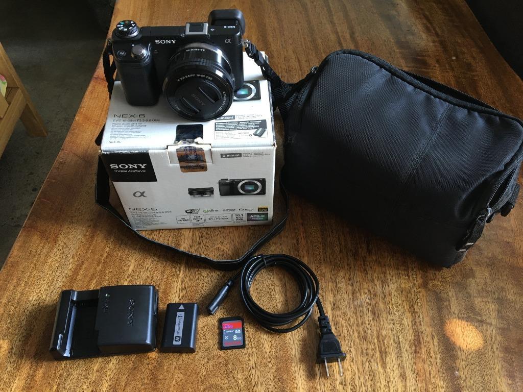 Sony NEX 6 with 16-50mm Kit Lens