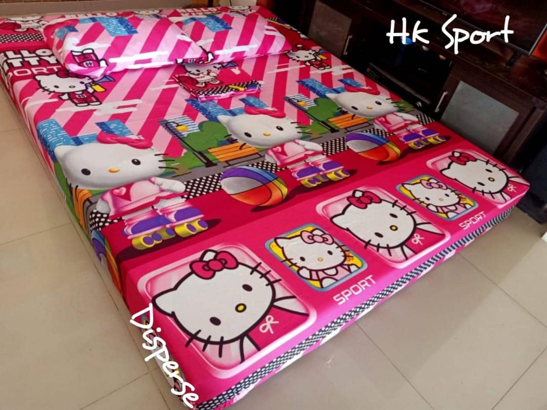 Sprei hello kitty sport