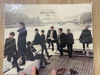 SUPER JUNIOR – Boys in City_4  巴黎戀人 SM官方周邊 滑鼠墊