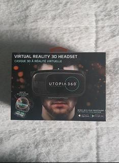 Virtual Reality VR 3D Headset for Smartphone