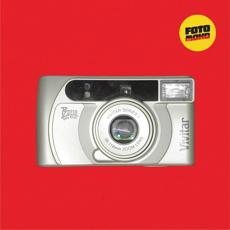 Vivitar PZ3118 - Point and Shoot 35MM Film Camera