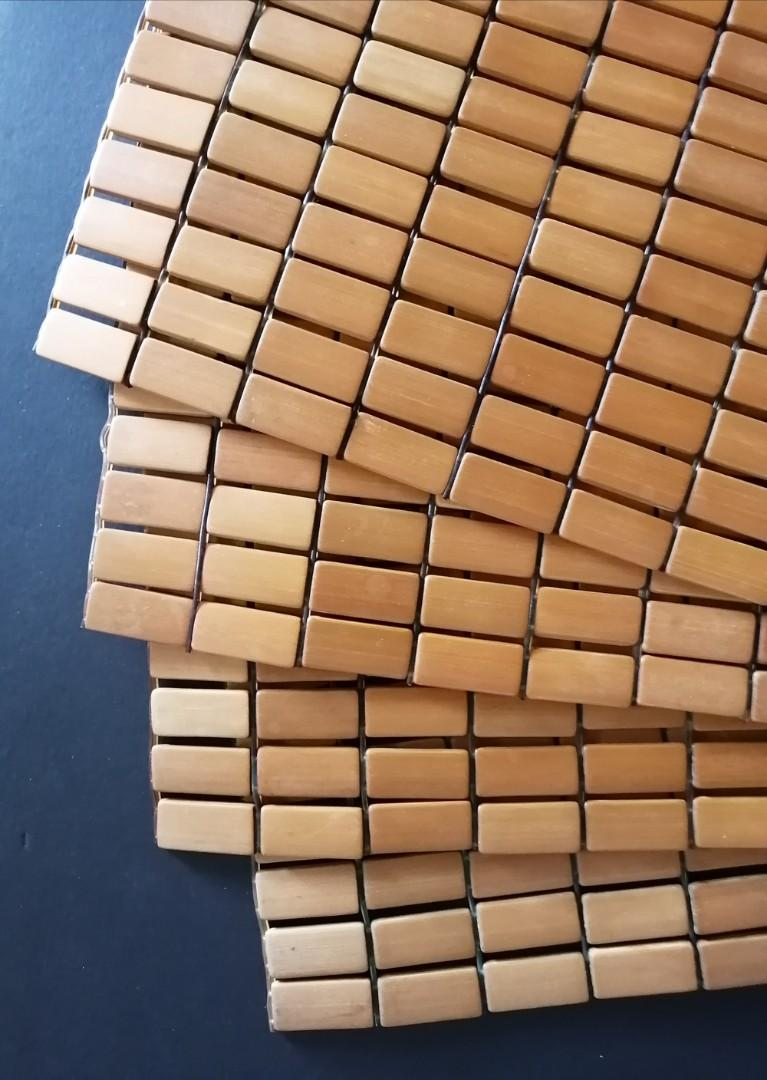 Wood Placemats (Set of 4)