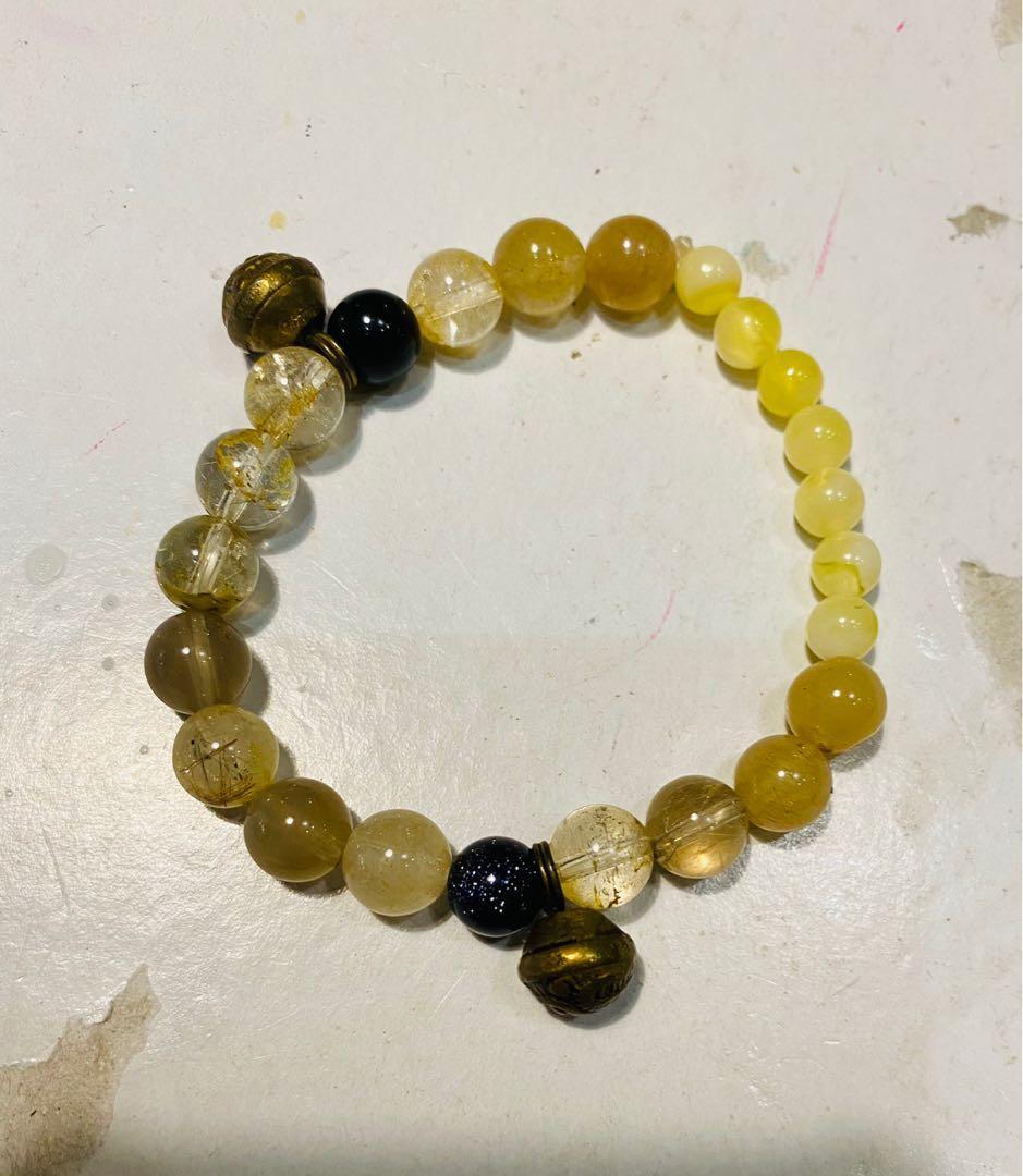 多寶尋梅水晶設計款手珠