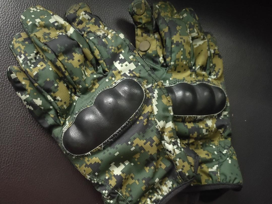 國軍數位迷彩防寒手套
