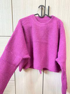 #正韓🇰🇷後開叉針織毛衣