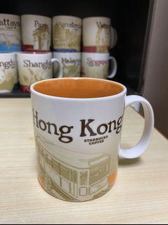 星巴克 城市杯 香港杯 Starbucks