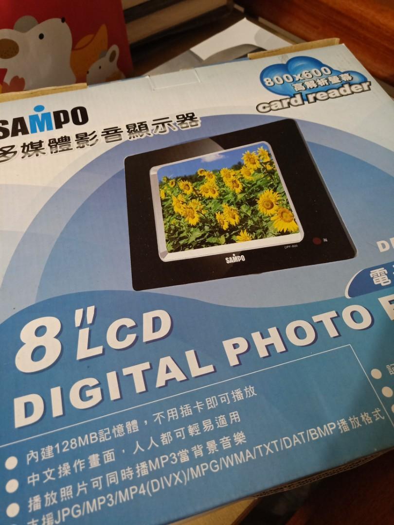聲寶多媒體數位相框 DPF-800 全新