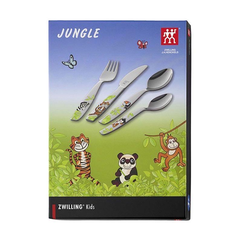 德國雙人牌  兒童餐具組-叢林系列ZWILLING 07135-210-0