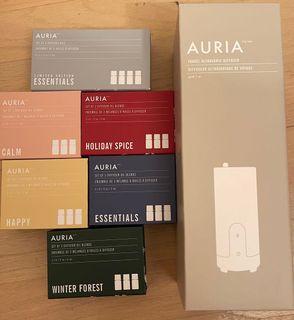 Auria Diffuser & Essential Oil Sets