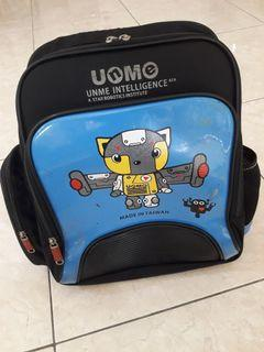 Authentic UnMe Primary School Backpack - Robotics Blue