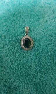 Pendant birthstone stone  w/diamond
