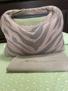 Bottega Veneta專櫃真品虎紋編織包最大款