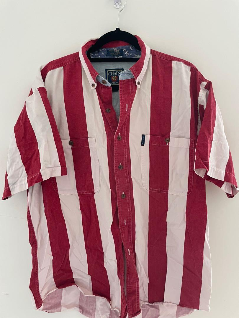 Chap's Ralph Lauren striped button up