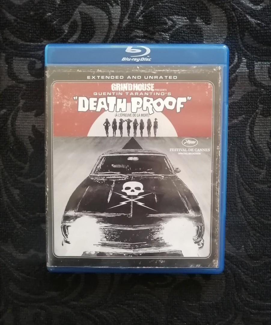 Death Proof Blu Ray - OOP