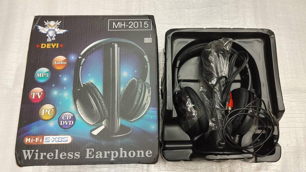 DEYI 耳罩式耳機 MH-2015 Wireless Earphone 近全新