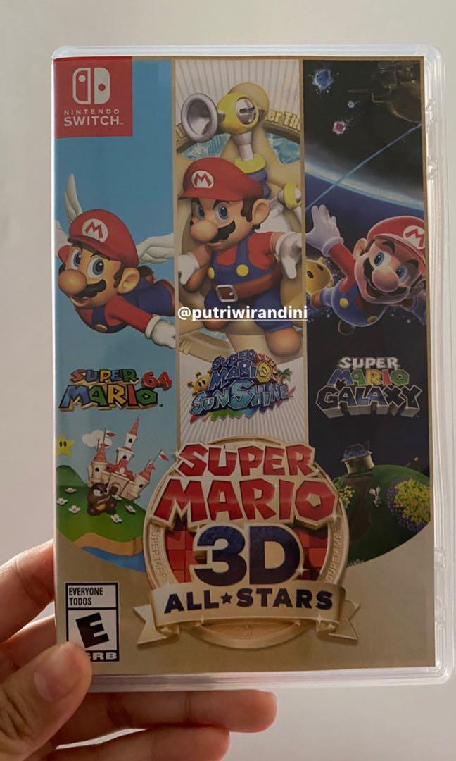 Game switch nintendo Super mario 3d all star