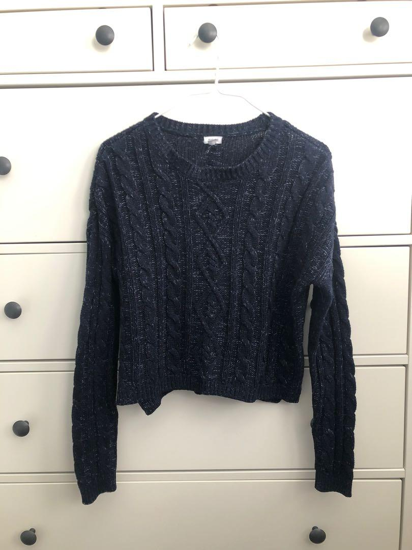 Garage Sweater Dark Blue