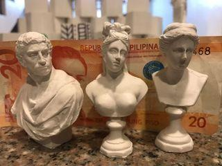 Goddess/ Artist Sculptures Set