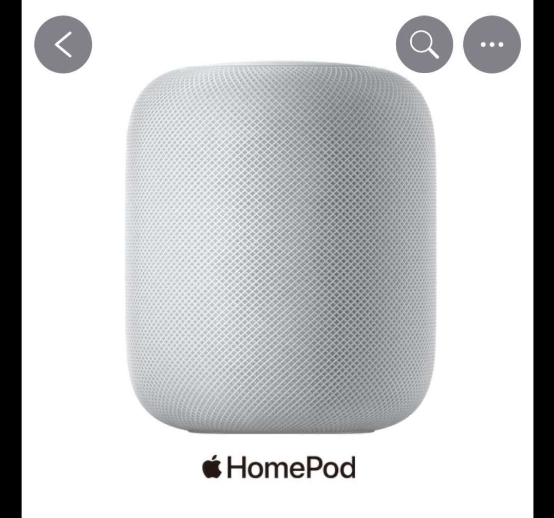 全新Home pod  原價9900 音響 白色