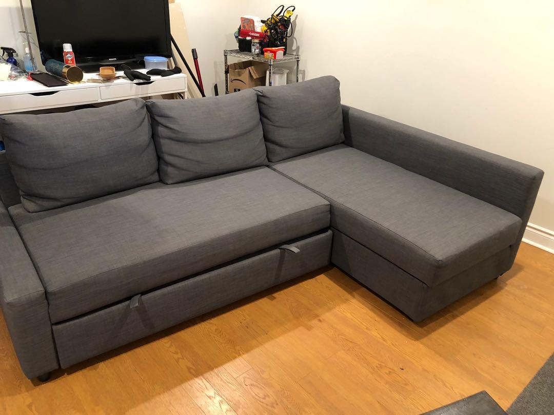 IKEA Sectional with pull out bed