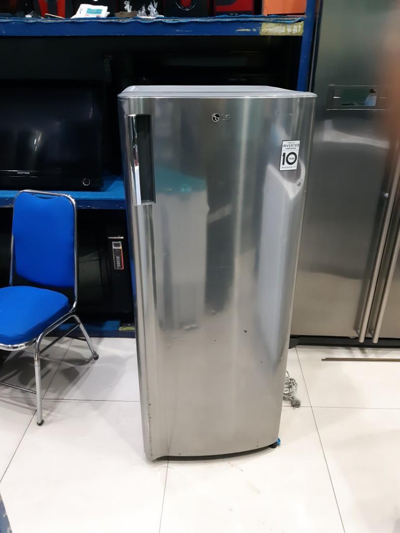 Kulkas Freezer LG Smart Inverter, model baru, sehat, siap pakai
