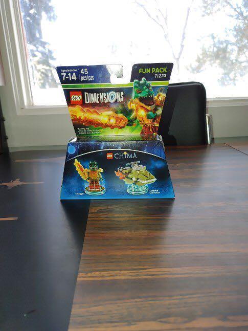 Lego dimensions Cragger