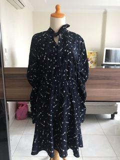 Lily Blue Galaxy Dress