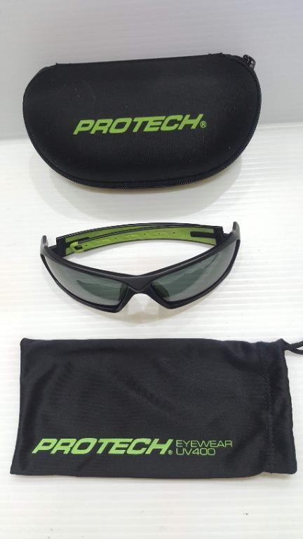 protech eyewear uv400 ADP012專業級UV400運動太陽眼鏡 黑&綠色系原價1350