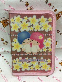 日本Sanrio 三麗鷗雙子星kikilala 資料套 二手