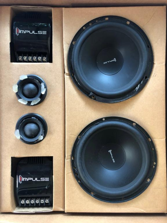 Speaker Mobil Impulse 3.12 Komplit - Midbass Tweeter Crossover