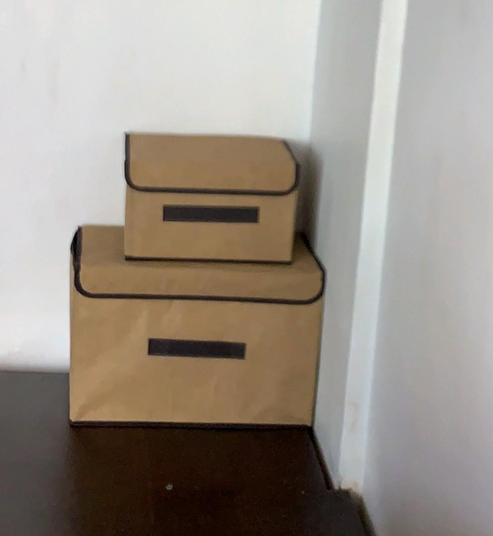 Storage Box 1set dpt 2pcs