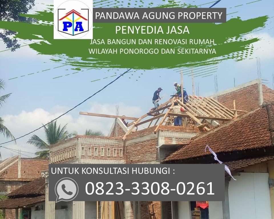 TERFAVORIT  | 0823-3308-0261 | Jasa Arsitek Dan Kontraktor Rumah di Ponorogo, PANDAWA AGUNG PROPERTY