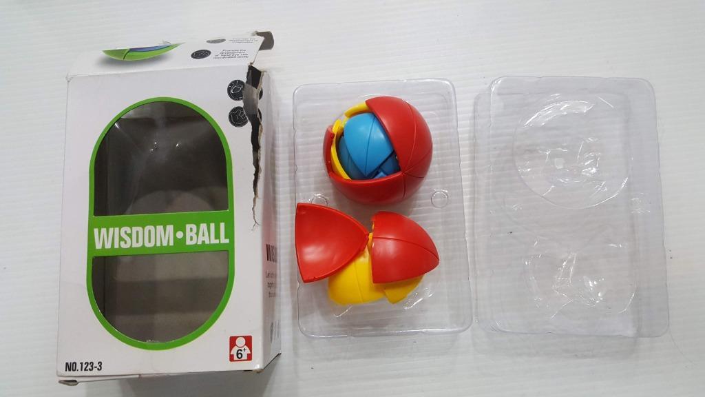 WISDOM Ball 魔術拼圖球 積木球 益智球