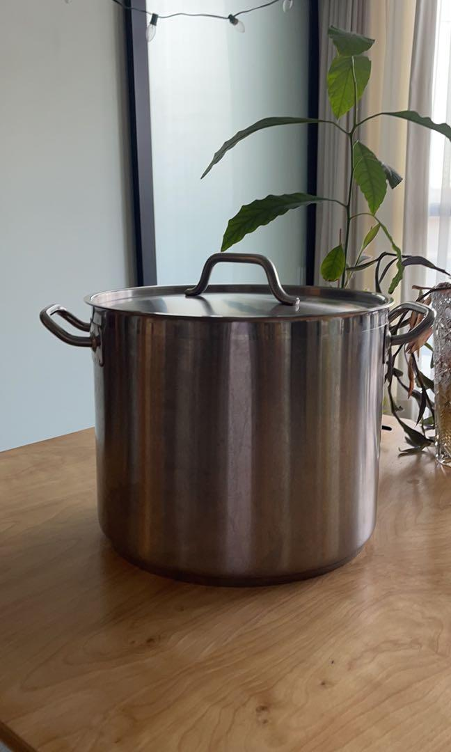 22L Stainless Steel Stockpot
