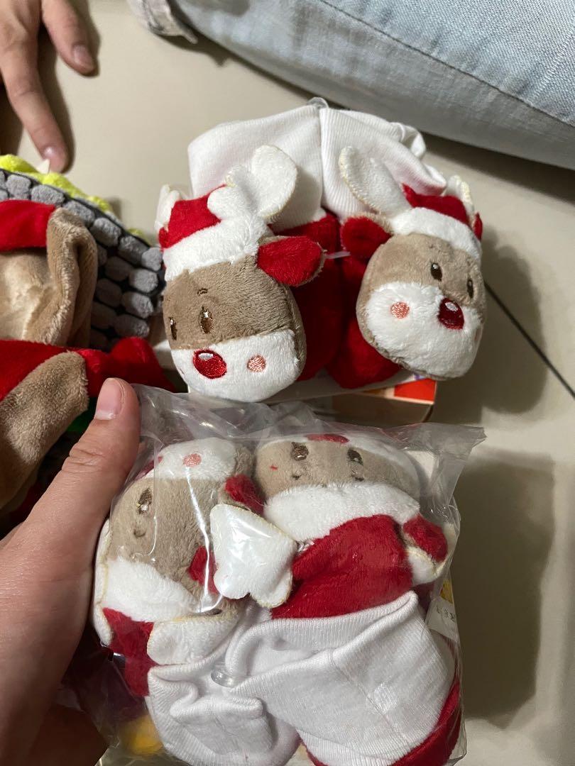 6個月以下兒童襪套(聖誕節)*2