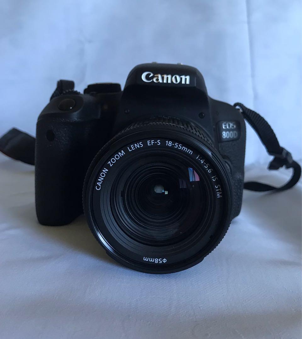 800D canon camera