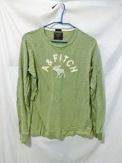 二手 長袖上衣 長袖 粉綠色 蘋果綠