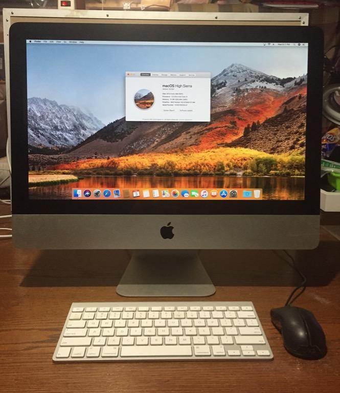 "Apple iMac 21.5"" 2.5GHz Intel Core i5"