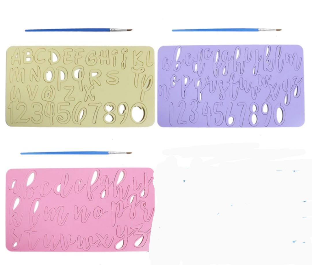 Brand New Embossing Stamp for Cakes